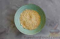 Фото приготовления рецепта: Медовое песочное печенье с грецкими орехами - шаг №6