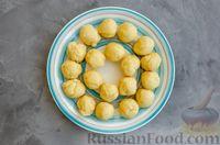 Фото приготовления рецепта: Медовое песочное печенье с грецкими орехами - шаг №7