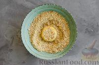 Фото приготовления рецепта: Медовое песочное печенье с грецкими орехами - шаг №9