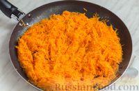 Фото приготовления рецепта: Закусочный рулет из моркови со сливочным сыром и зеленью - шаг №4