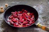 Фото приготовления рецепта: Пряный свекольный крем-суп с обжаренным нутом - шаг №8