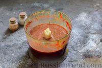 Фото приготовления рецепта: Пряный свекольный крем-суп с обжаренным нутом - шаг №11