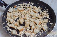 Фото приготовления рецепта: Свиные тефтели, тушенные в миндальном соусе с белым вином - шаг №15