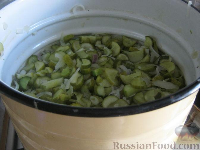 Зимние салаты из огурцов