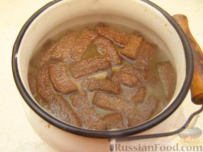 Квас из черного ржаного хлеба в домашних условиях 83