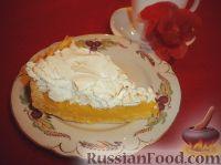 Фото к рецепту: Итальянский лимонный пирог с меренгой (Сrostata al limone con meringa)