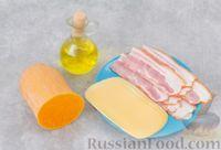 Фото приготовления рецепта: Тыква, запечённая с сыром, в беконе - шаг №1