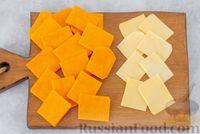 Фото приготовления рецепта: Тыква, запечённая с сыром, в беконе - шаг №2