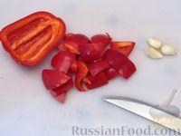 Фото приготовления рецепта: Куриные ножки, запечённые на лаваше, в соусе из кефира и сладкого перца - шаг №2
