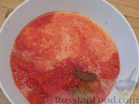 Фото приготовления рецепта: Куриные ножки, запечённые на лаваше, в соусе из кефира и сладкого перца - шаг №5