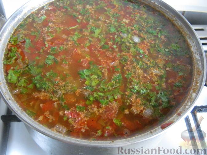 суп харчо пошаговый рецепт приготовления с фото