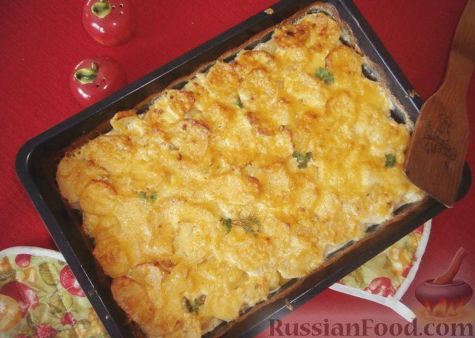 рецепт гратен картофельный