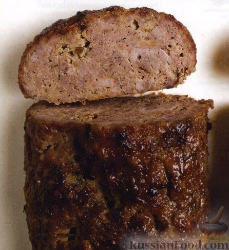 """Рецепт Мясной """"хлеб"""" из говядины и телятины"""