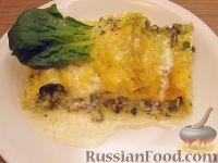 Фото к рецепту: Макароны, фаршированные творогом и шпинатом
