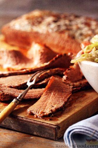 Рецепт Говядина, тушенная с овощами (в медленноварке)