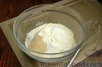 Фото приготовления рецепта: Дрожжевые лепёшки на молоке, с картофелем и зелёным луком - шаг №2