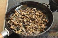 Фото приготовления рецепта: Скумбрия, запечённая с сельдереем и грибами (в фольге) - шаг №7