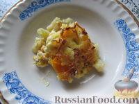 Фото к рецепту: Запеканка из цветной капусты с фаршем