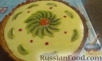Фото к рецепту: Тарт (открытый пирог) со сгущёнкой