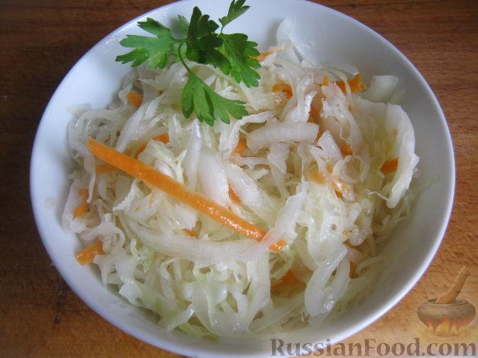 Как приготовить маринованную капусту быстрого приготовления