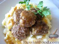 Фото к рецепту: Тефтели с рисом