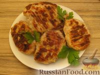 Фото к рецепту: Куриные котлеты рубленые (в духовке)