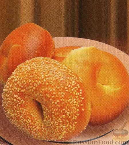 рецепт булочек с кунжутом