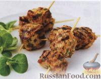 Фото к рецепту: Мини-шашлычки из свинины