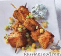 Фото к рецепту: Рыбные шашлыки