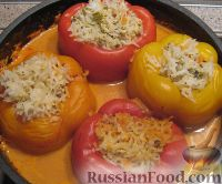 соус для перцев фаршированные фаршем рецепт
