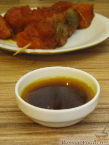 Рецепт Пряный маринад для семги