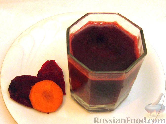 Рецепт Сок свекольно-морковный