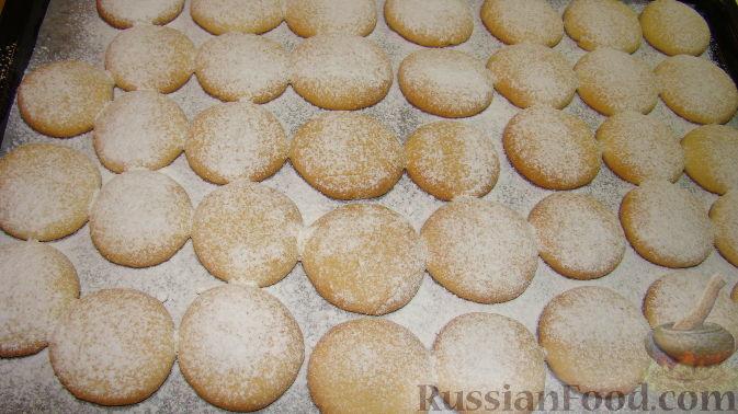 Печенье с вареными желтками
