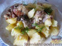 Фото к рецепту: Жаркое из свиных ребрышек