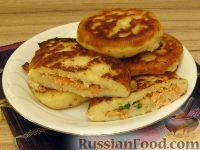 Фото к рецепту: Зразы картофельные с семгой