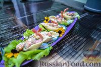 Фото к рецепту: Конкильони с морепродуктами