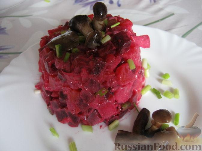 """Рецепт Овощной салат со свеклой """"Осеннее настроение"""""""