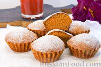 Фото к рецепту: Постные кексы на томатном соке