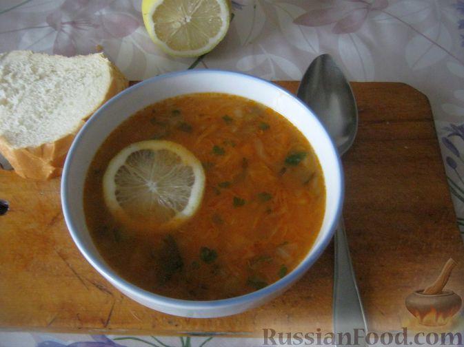 Рецепт Постная овощная солянка