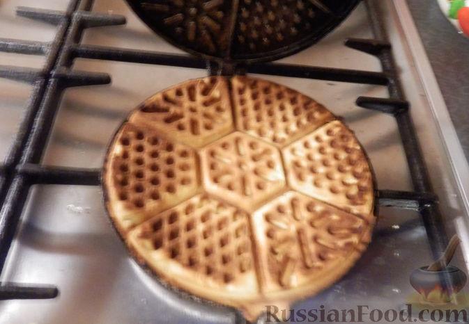 Печенье в специальной сковороде - Кулинарные рецепты