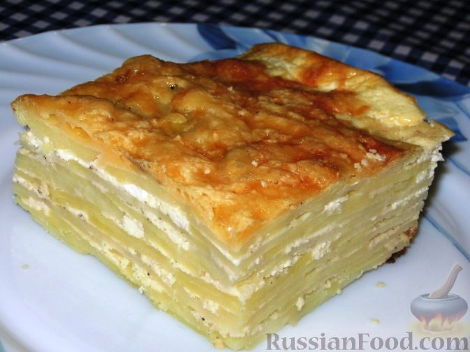 Запеканка с творогом и сыром