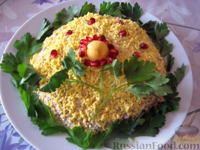 Рецепт мимозы с рисом в фото