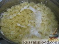 Фото приготовления рецепта: Паста c куриной грудкой под сливочным соусом - шаг №7