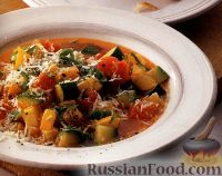 Фото к рецепту: Овощной суп с сыром