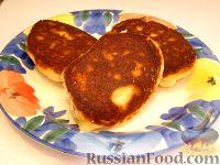 Фото к рецепту: Сырники творожные с манной крупой