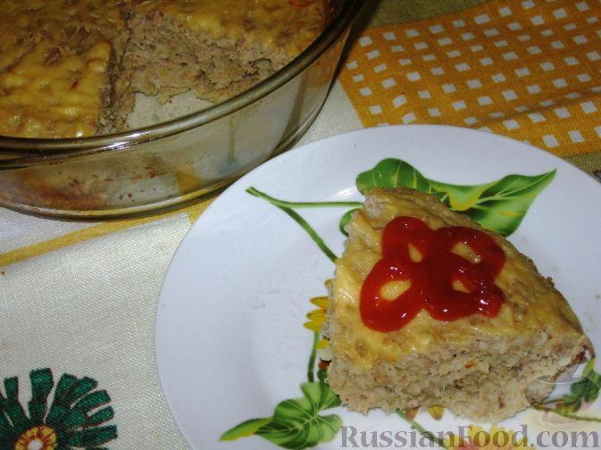 Рецепт Запеченный форшмак из телятины с сельдью
