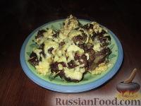 """Фото к рецепту: """"Торбочки"""" из говядины с грибами"""