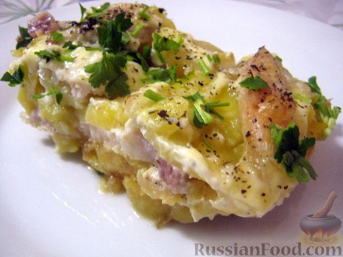Рецепт Запеканка из картофеля с рыбой