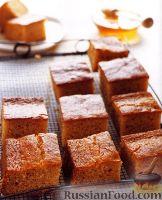 Фото к рецепту: Медовые пирожные