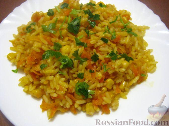 Рецепт Вегетарианский плов с овощами
